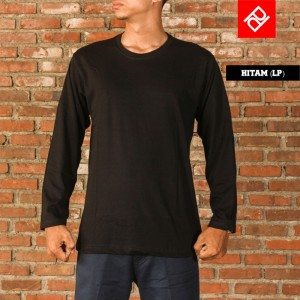 Hitam T-shirt (Long)